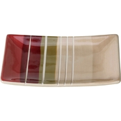 Saturday Knight Madison Stripe Soap Dish
