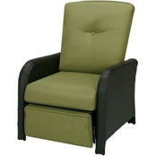 Hanover Strathmere Outdoor Reclining Lounge Chair