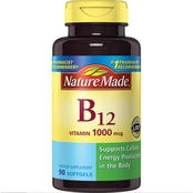 Nature Made 1000mcg Vitamin B12 Gel Capsules 90 ct.
