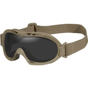 Wiley X Nerve Tan Goggle 2 Lens Kit
