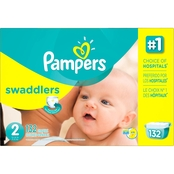 Pampers Swaddlers Diapers Size 2 (12-18 lb.) Choose Count
