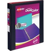 Avery Durable Dual Color 1 in. Binder