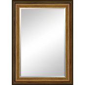 Simply Perfect 24 x 36 in. Framed Mirror, Gold