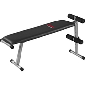 Sunny Health and Fitness Sunny 2 in 1 Flat Sit Up Bench