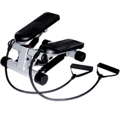 Sunny Health and Fitness Mini Stepper with Bands