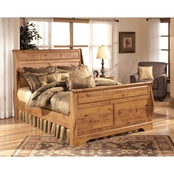 Signature Design by Ashley Bittersweet Sleigh Bed