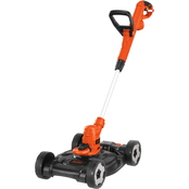 Black & Decker 6.5 Amp 12 in. Electric 3-in-1 Compact Mower