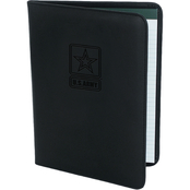 Mercury Luggage Army Debossed Logo Padfolio