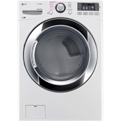 LG 7.4 Cu. Ft. Electric Ultra Large HE Dryer with TrueSteam