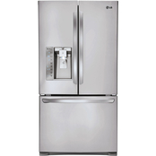 LG 25 Cu. Ft. 3 Door French Door Refrigerator with Smart Cooling