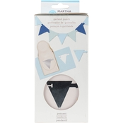 Martha Stewart Crafts Pennant Garland Craft Punch