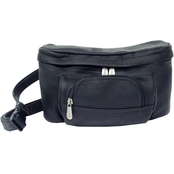 Piel Leather Carry All Waist Bag