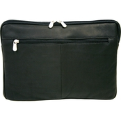 Piel Leather Mini Zip Laptop and Tablet Sleeve