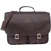 Piel Leather Executive Two Pocket Portfolio