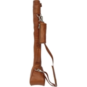 Piel Leather Driving Range Golf Caddy