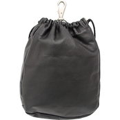Piel Leather Large Drawstring Pouch
