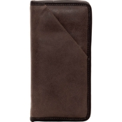 Piel Leather Vintage Executive Travel Wallet
