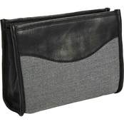 Piel Leather Canvas Toiletry Kit