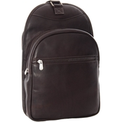 Piel Leather Slim Adventurer Sling Bag/Backpack