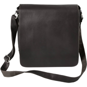 Piel Leather Small Tablet Vertical Messenger