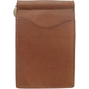 Piel Leather Bifold Money Clip