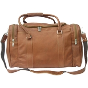 Piel Leather Classic Weekend Carry On Bag
