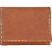 Piel Leather Trifold Wallet