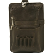 Piel Leather All In One Golf Pouch