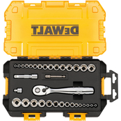 DeWalt 1/4 in. and 3/8 in. Drive Socket 34 pc. Set