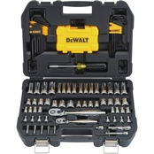 DeWalt 1/4 in. and 3/8 in. Drive 108 pc. Mechanic's Tool Set