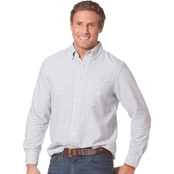 Chaps Big & Tall Tattersall Oxford Shirt