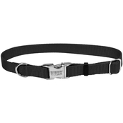 Coastal Pet Adjustable Nylon Dog Collar with Titan Metal Buckle