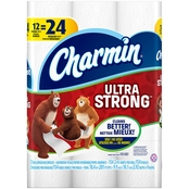 Charmin Ultra Strong Double Roll Bath Tissue 12 pk.