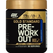 Optimum Nutrition Gold Standard Pre Workout, Blue Lemon