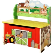 Fantasy Fields Happy Farm Storage Bench