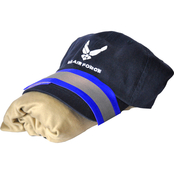 Sayre Mens Embroidered Air Force Logo Cap, ZTEK Tee and Arm Band Set