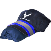 Sayre Womens Air Force Logo Cap, V-Neck Tee and Arm Band Set