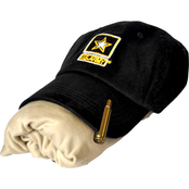 Sayre Mens Embroidered Army Logo Cap, ZTEK Tee and Bullet Hat Clip Set