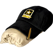 Sayre Womens Embroidered Army Logo Cap, ZTEK Tee and Bullet Hat Clip Set