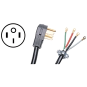 Certified Appliance 4 Ft. 4 Wire 50A Petra Range Cord