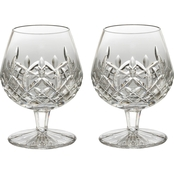 Waterford Lismore 2 pc. Brandy Balloon Glass Set