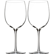Waterford Elegance 2 pc. Bordeaux Wine Glass Set