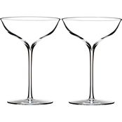 Waterford Elegance 2 pc. Champagne Coupe Glass Set