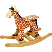 Teamson Kids Safari Giraffe Rocking Horse