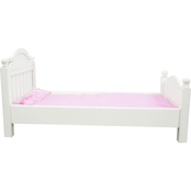 Teamson Kids My Sweet Girl Doll Single Bed