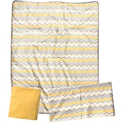 Trend Lab Buttercup Zigzag 3 pc. Crib Bedding Set