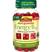 Nature Made Energy B12 Adult Gummies 150 Pk.