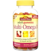Nature Made Multi + Omega-3 Adult Gummy 150 Pk.