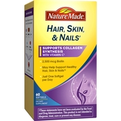 Nature Made Hair, Skin and Nails Softgels 60 Pk.