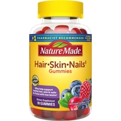 Nature Made Hair, Skin, Nails Adult Gummies 90 Pk.